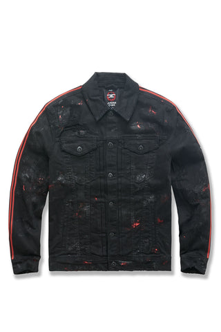 Dillinger Striped Trucker Jacket (Bred)