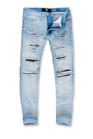Big Men's Aaron Cheyenne Denim (Ice Blue)