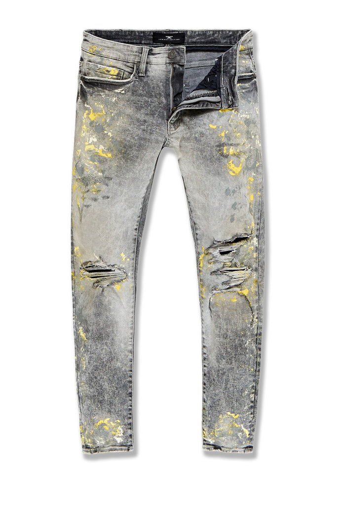 Big Men's Aaron Chicago Denim (Fog)