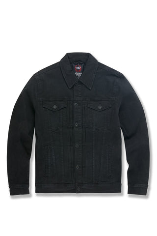 Atlanta Denim Jacket (Jet Black)