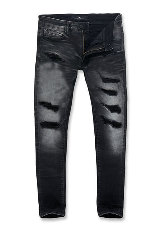 Big Men's Aaron Motor City Denim (Black Shadow)
