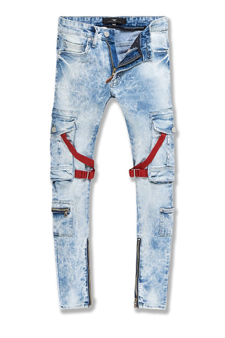 Ross - Deadwood Cargo Denim (Ice Blue)