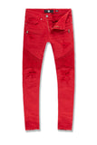 Sean - Tribeca Moto Pants (Red)