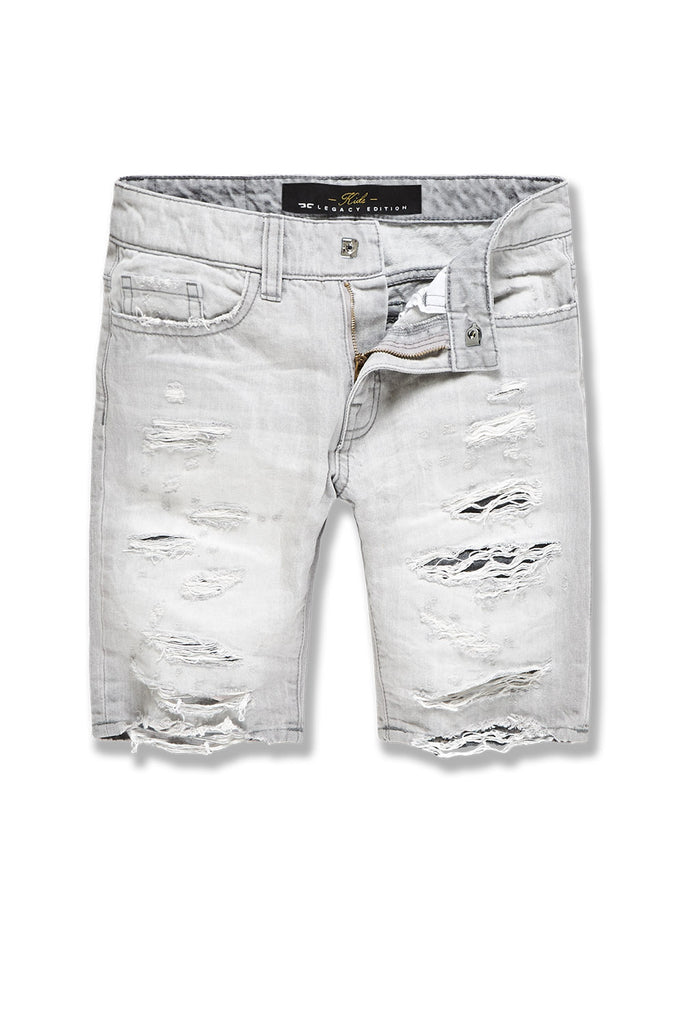 Kids Belmar Denim Shorts (Cement Wash)