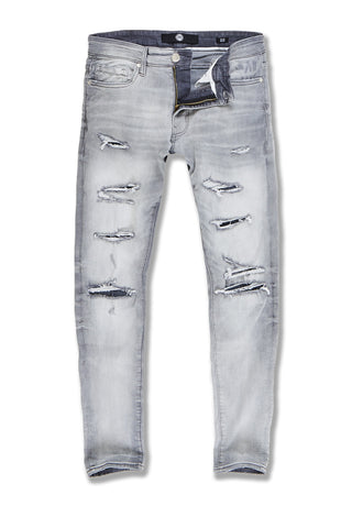 Big Men's Aaron Cheyenne Denim (Light Grey)