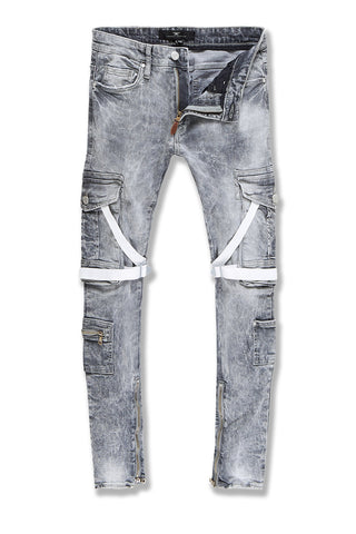 Ross - Deadwood Cargo Denim (Cement Wash)