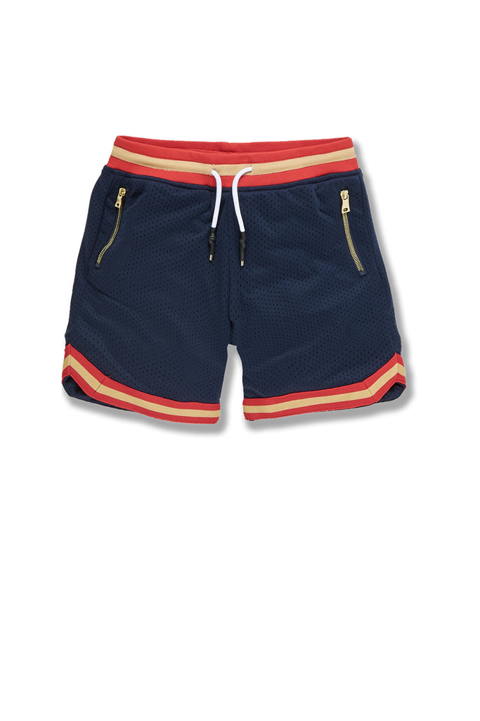 Kids Rucker Retro Basketball Shorts (New Orleans)
