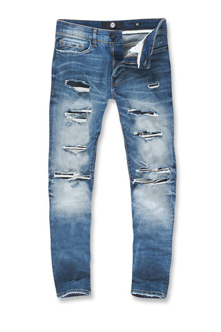 Big Men's Aaron Cheyenne Denim (Medium Blue)
