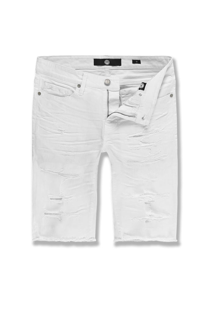 Wildwood Twill Shorts (White)