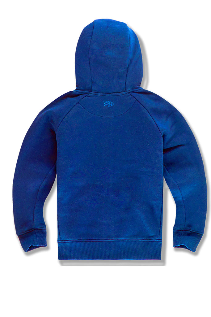 Kids Uptown Zip Up Hoodie (Royal)
