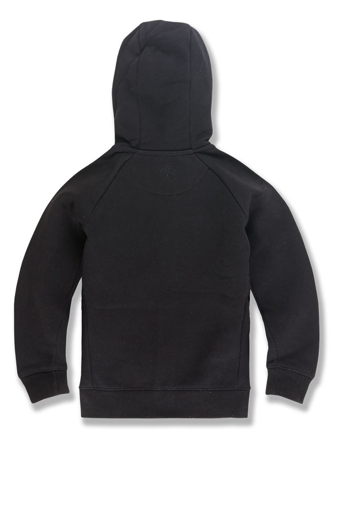 Kids Uptown Zip Up Hoodie (Black)
