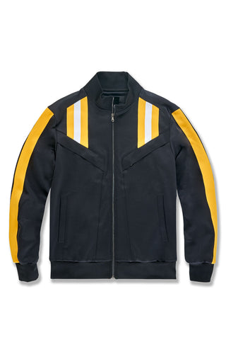 Collegiate Track Jacket (Gold)