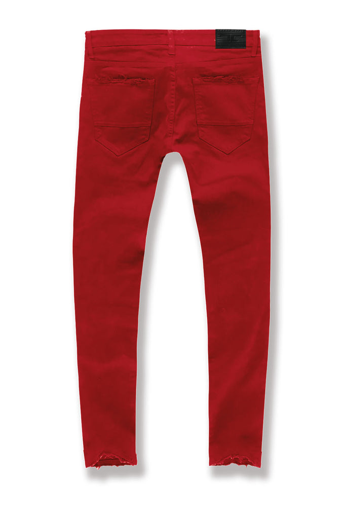 Aaron - Tribeca Twill Pants (Red)
