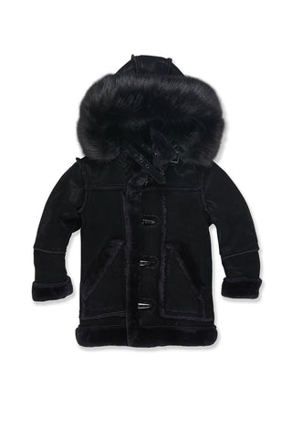 Kids Denali Shearling Jacket (Black)