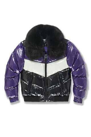 Kids Sugar Hill Nylon Puffer Jacket (Court Purple)