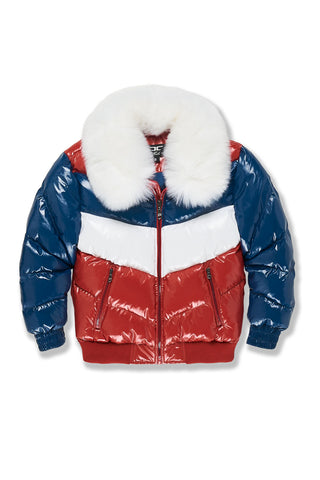 Kids Sugar Hill Nylon Puffer Jacket (Americana)
