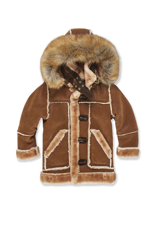 Kids Denali Shearling Jacket (Walnut)