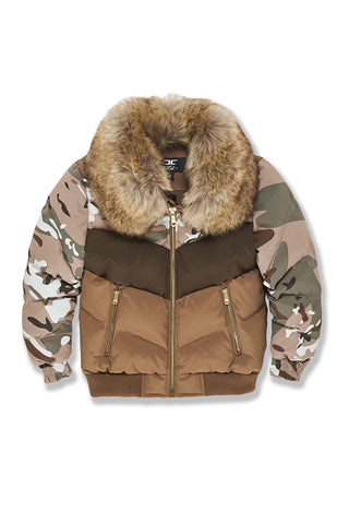 Kids Sugar Hill Nylon Puffer Jacket (Woodland)