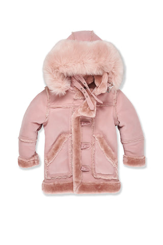 Kids Denali Shearling Jacket (Pink)