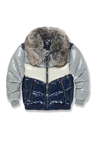 Kids Sugar Hill Nylon Puffer Jacket (London Blue)