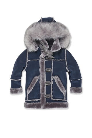 Kids Denali Shearling Jacket (Midnight Smoke)
