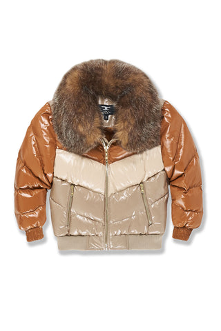 Kids Sugar Hill Nylon Puffer Jacket (Desert Fox)