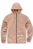 Uptown Zip Up Hoodie (Blush)