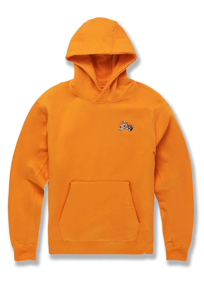 All The Way Up Pullover Hoodie (Orange)