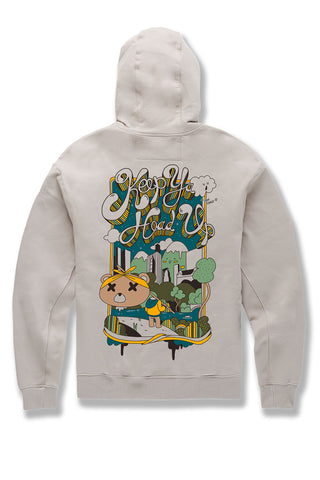 Keep Ya Head Up Pullover Hoodie (Latte)
