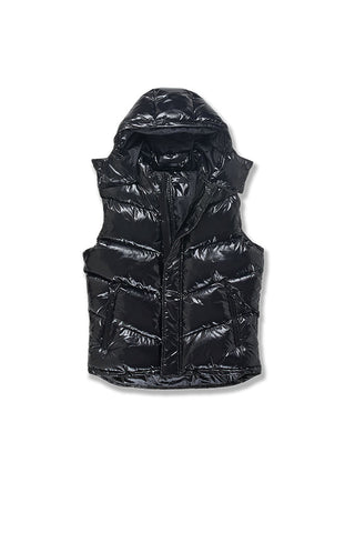 Sugar Hill Puffer Vest (Black)