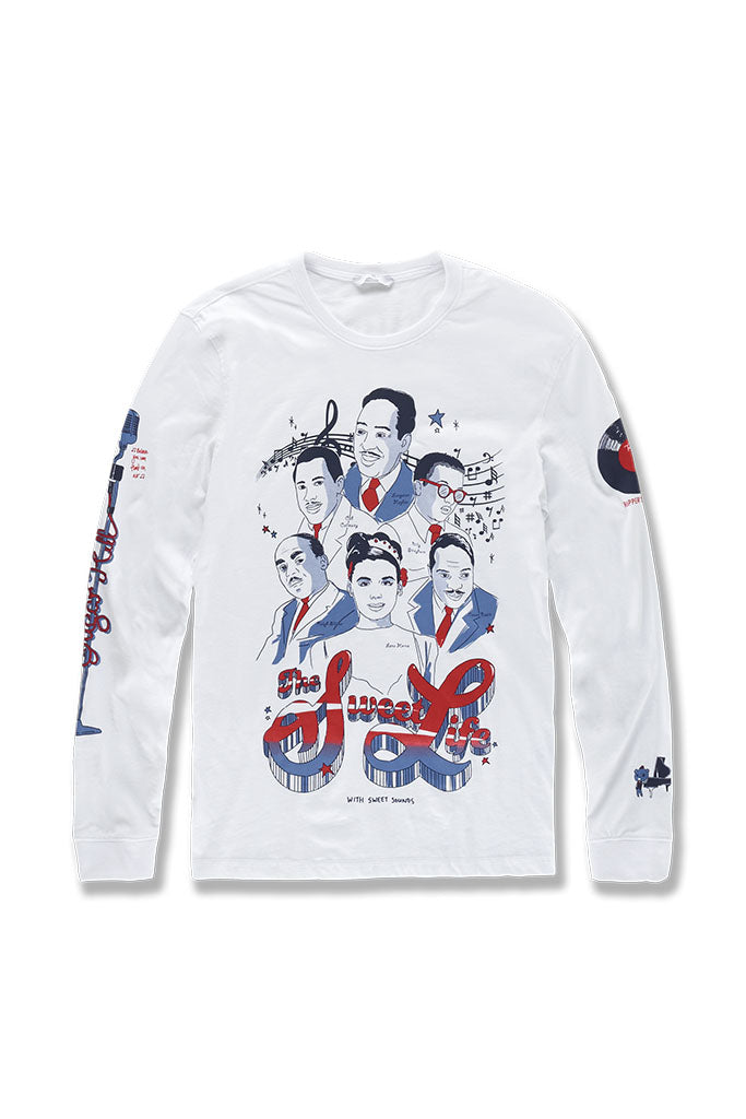The Sweet Life L/S T-Shirt (White)