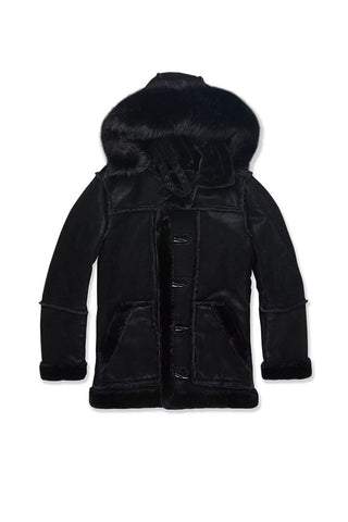 Big Men's Denali Shearling Jacket (Black)