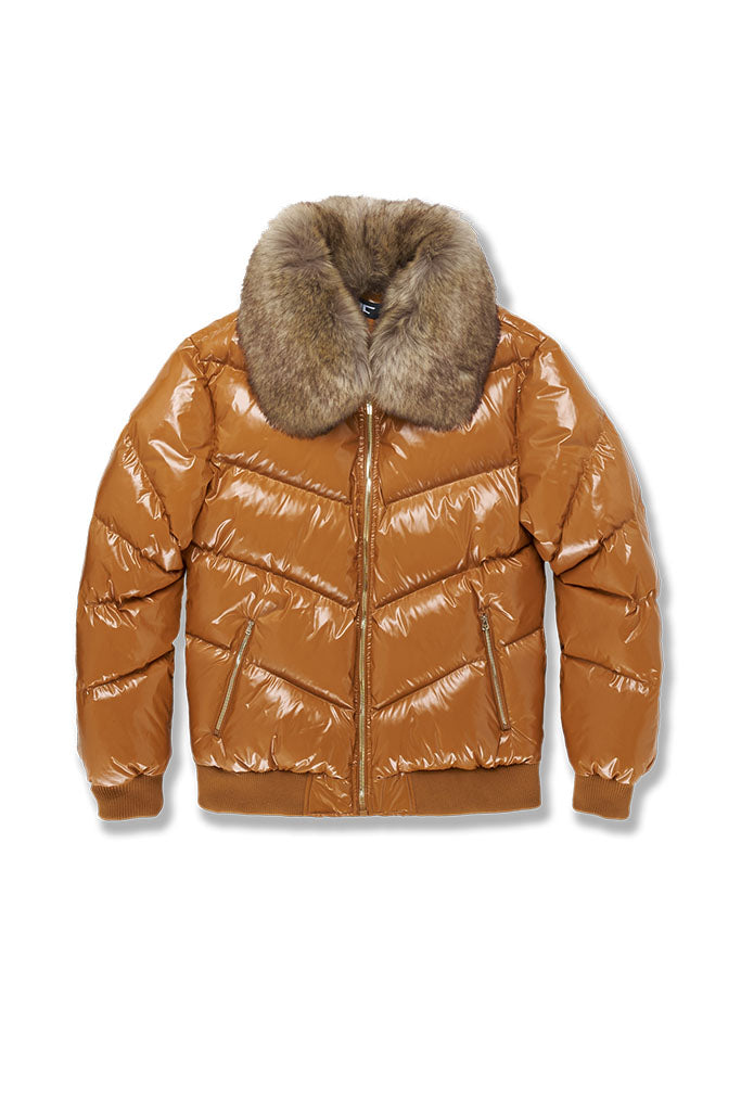 Big Men's Lenox Nylon Puffer Jacket (Timber Wheat)