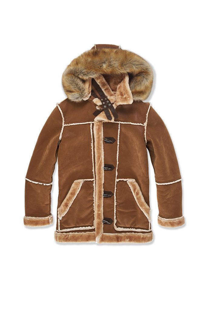 Denali Shearling Jacket (Walnut)