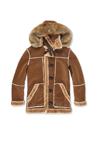 Big Men's Denali Shearling Jacket (Walnut)