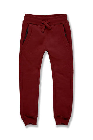 Kids Uptown Jogger Sweatpants (Wine)