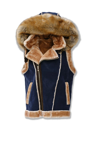 Denali Shearling Vest (Sunset)