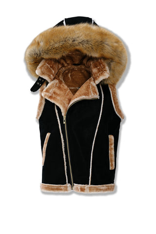 Denali Shearling Vest (Dark Roast)