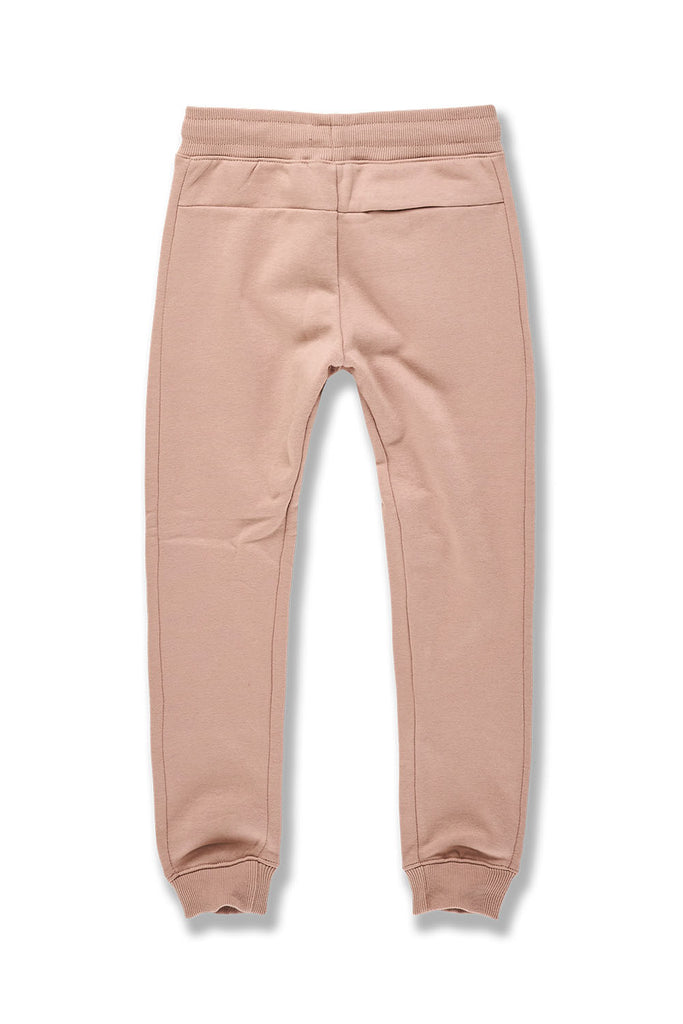 Kids Uptown Jogger Sweatpants (Blush)