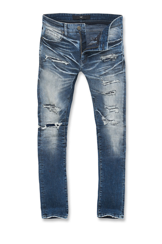 Sean - Motor City Denim (Aged Wash)