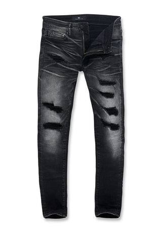 Sean - Motor City Denim (Black Shadow)