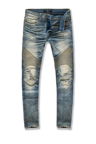 Sean - Soho Moto Denim (Lager)