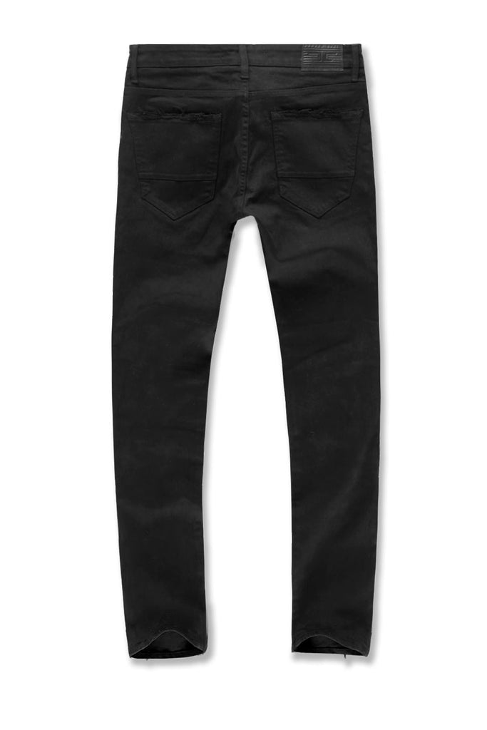 Big Men's Aaron Tribeca Twill Pants (Black)