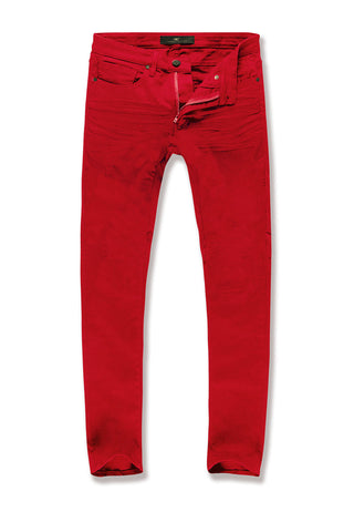 Sean - Pure Tribeca Twill Pants (Red)