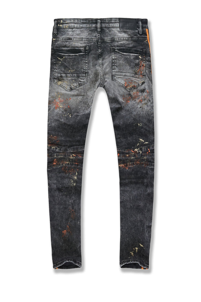 Sean - Renegade Moto Denim (Winter Black)