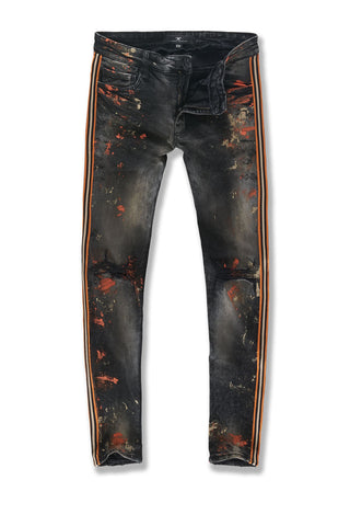 Sean - Sugar Hill Striped Denim (Starfish)