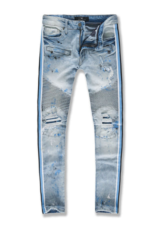 Sean - Renegade Moto Denim (UNC Wash)