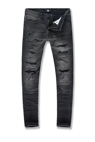 Sean - Abyss Denim (Black Shadow)