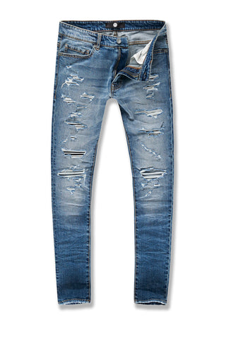Sean - Abyss Denim (Medium Blue)