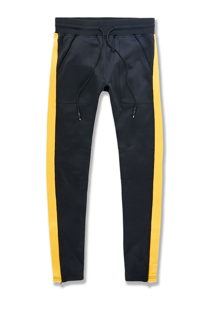 Collegiate Track Pants (Gold)